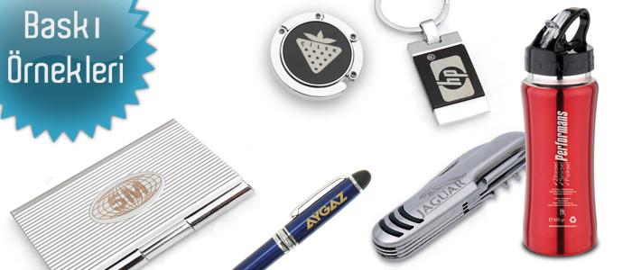 Lazer baskı ve markala lazer kazıma promosyon reklam